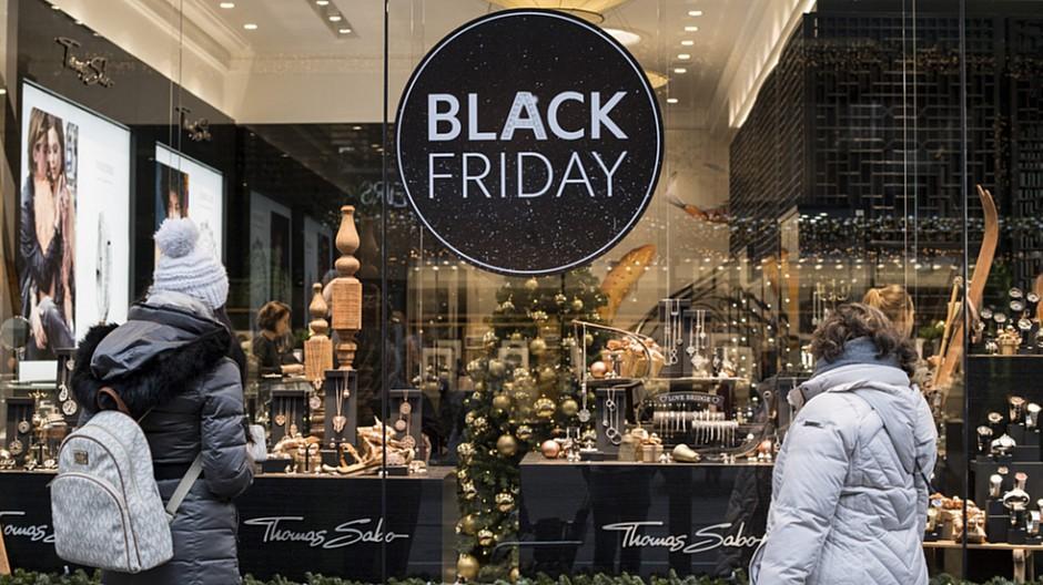 Black Friday: In der Schweiz fünfmal mehr Umsatz erwartet