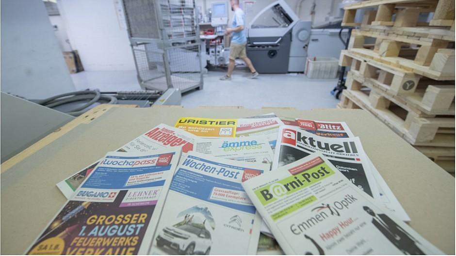 Print lebt: Innerschweizer Gratisanzeiger trotzen dem Web