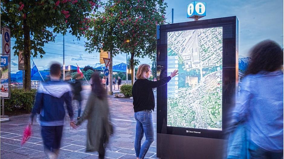 Clear Channel: «Intensive» Nutzung der Stadtpläne
