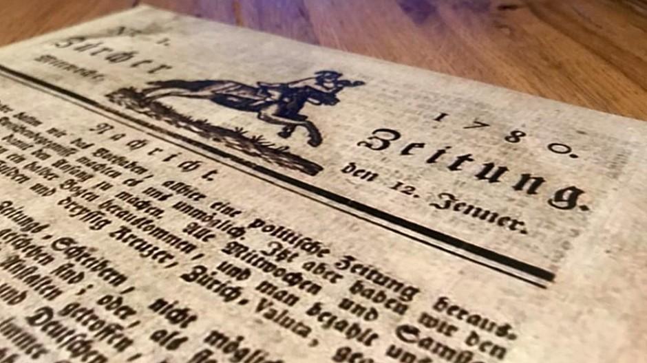 NZZ: Jahrgänge von 1780 bis 1914 online verfügbar