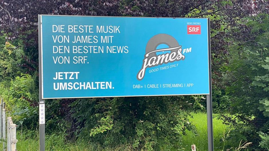 Sidlerdesign: James FM lanciert Imagekampagne