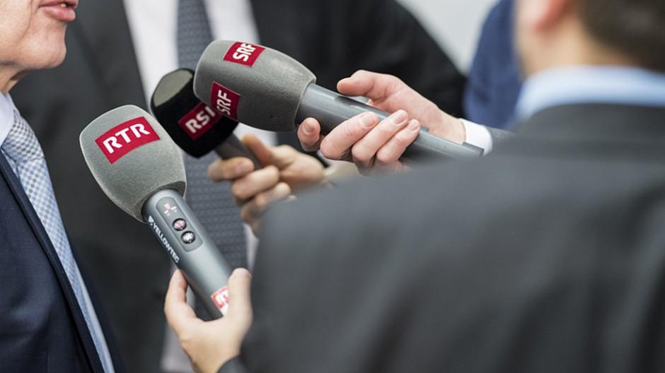 Medien im Bundeshaus: Jeder dritte Journalist ist von der SRG