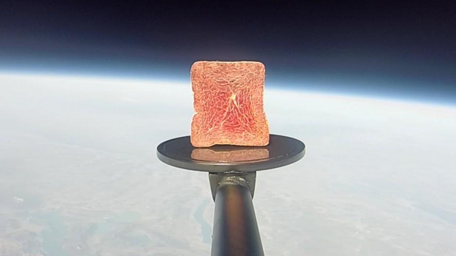Wirz: Jetzt gibts Bündnerfleisch aus dem Weltall