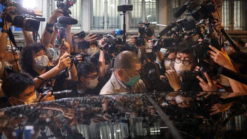 Hongkong: Jimmy Lai gegen Kaution wieder frei