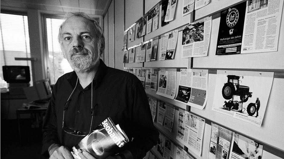 Todesfall: Journalist Balz Hosang ist gestorben