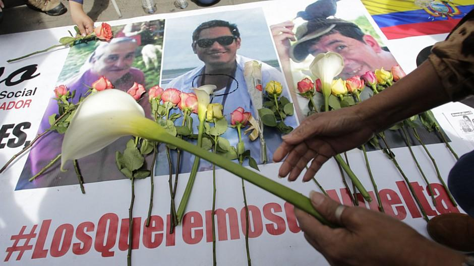 Ecuador: Journalisten entführt und getötet