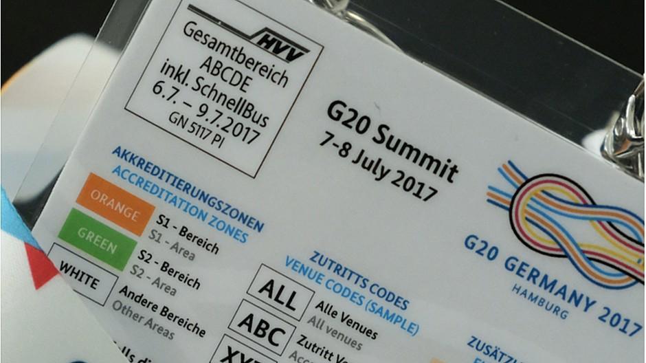 G20-Gipfel: Journalisten klagen gegen Bundespresseamt