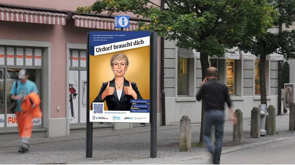 PS Werbung: Kampagne wirbt für Ämter in Gemeinden