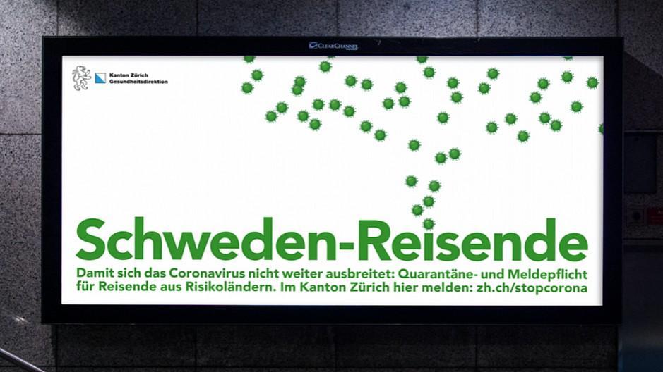 Coronavirus: Kanton Zürich lanciert Quarantäne-Kampagne