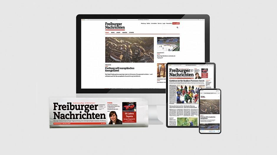 Freiburger Nachrichten: Völlig neue Onlinepräsenz