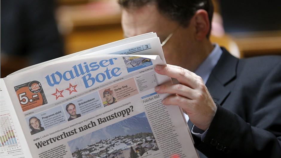 CH Media: Kooperation mit dem Walliser Boten