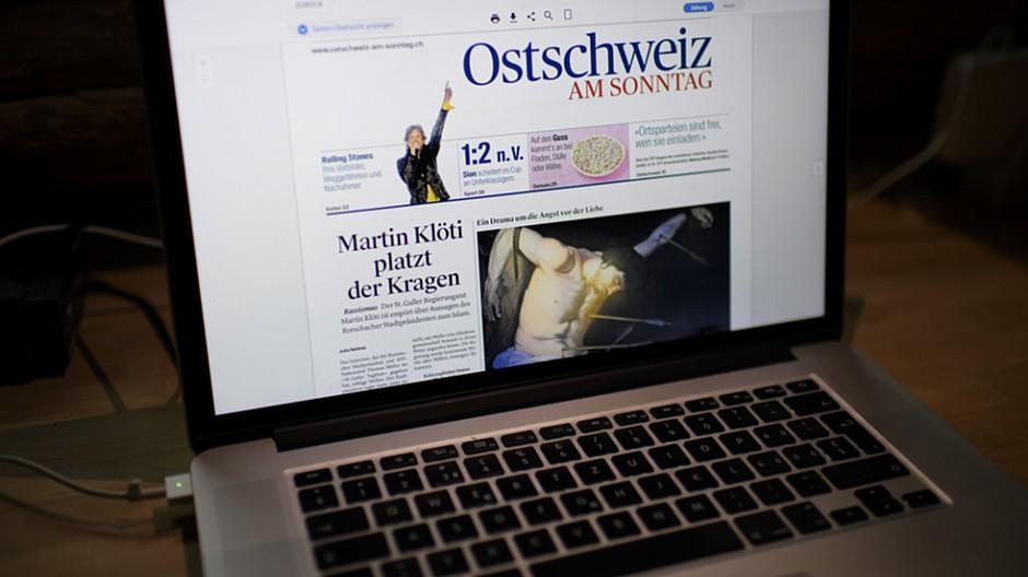 NZZ Regionalmedien: Korrektorat wird ins Ausland verlegt