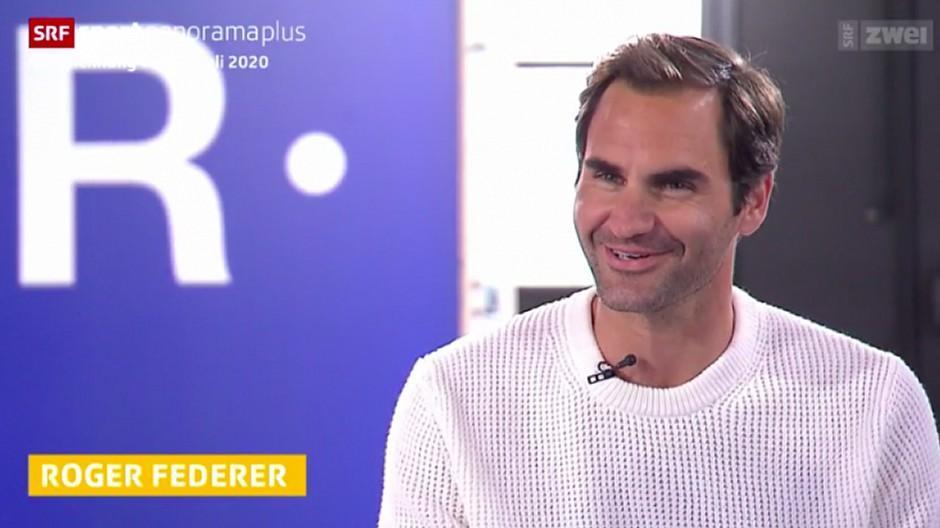 Schleichwerbung: Kritik an Dekor bei Federer-Interview