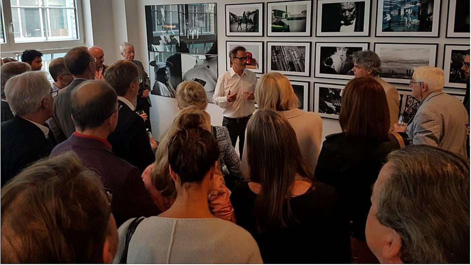 Alberto Venzago: Grosses Interesse an Ausstellung im Atelier