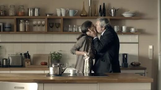 Ruf Lanz: Ein intensiver Kuss beweist den Kaffeegenuss