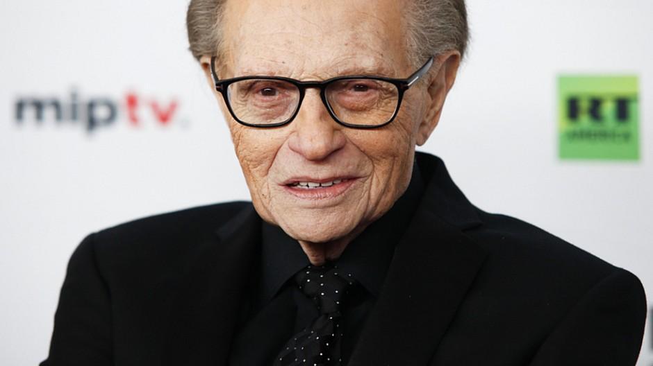 Legendärer Talkmaster: Larry King ist mit 87 Jahren gestorben