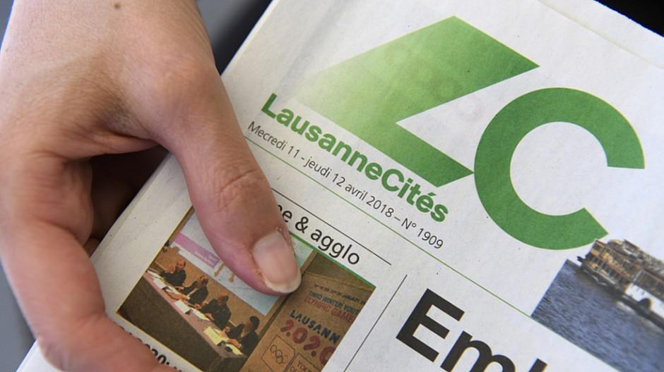 Lausanne Cités: Lausanne greift Gratisanzeiger unter die Arme