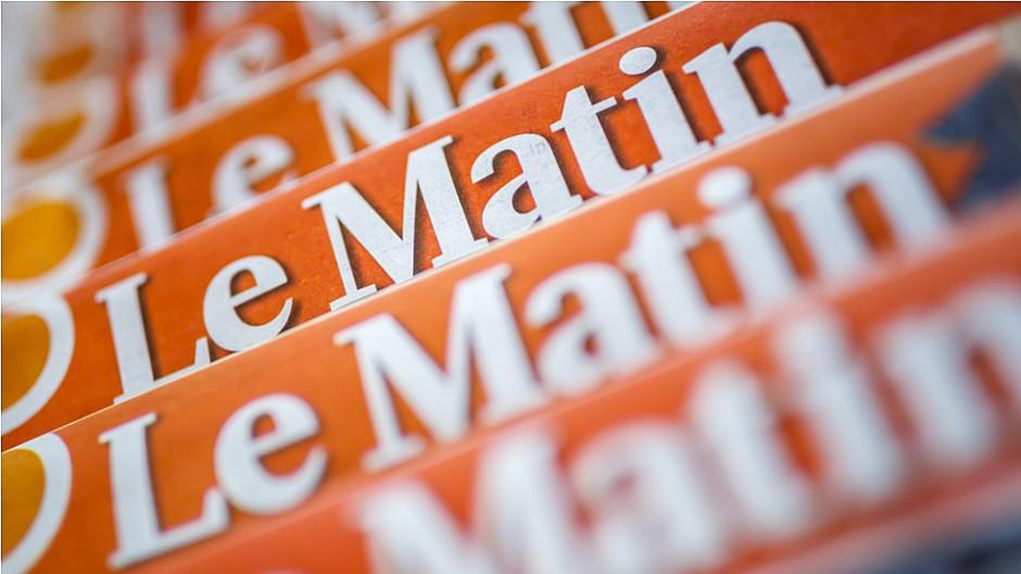 Tamedia: «Le Matin» soll im Sommer eingestellt werden