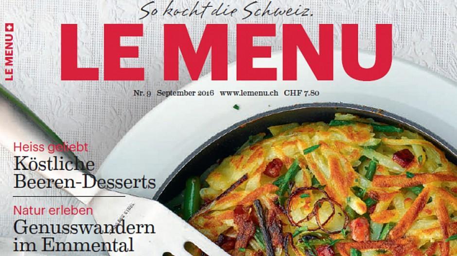 Medienart: «Le menu» erhält neuen Produzenten
