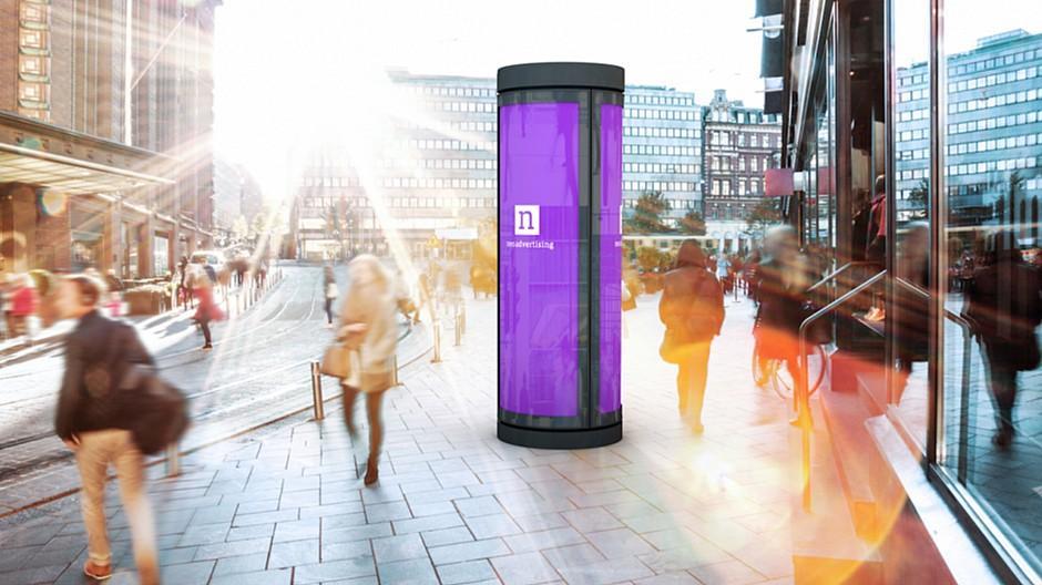 Tamedia: Leuchtdrehsäulen erobern Zürich und Winterthur