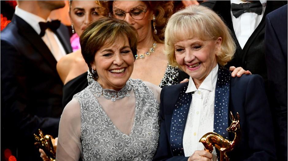 Bambi Medienpreis: Liselotte Pulver erhält Trophäe für Lebenswerk