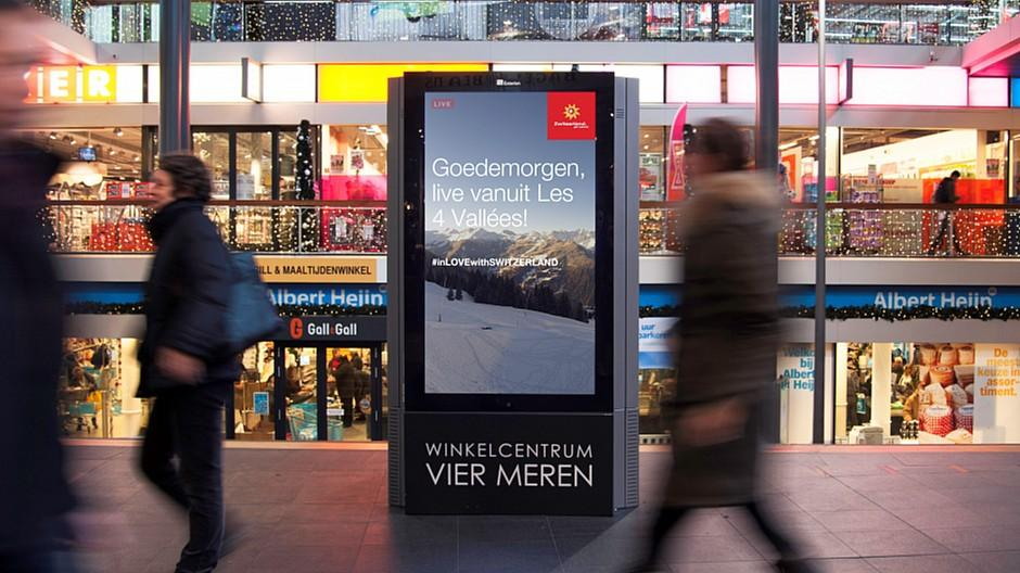 Schweiz Tourismus: Live-Bilder aus der Schweiz in Holland