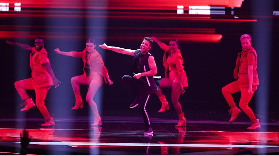 Eurovision Song Contest 2019: Luca Hänni tanzt sich in den Final