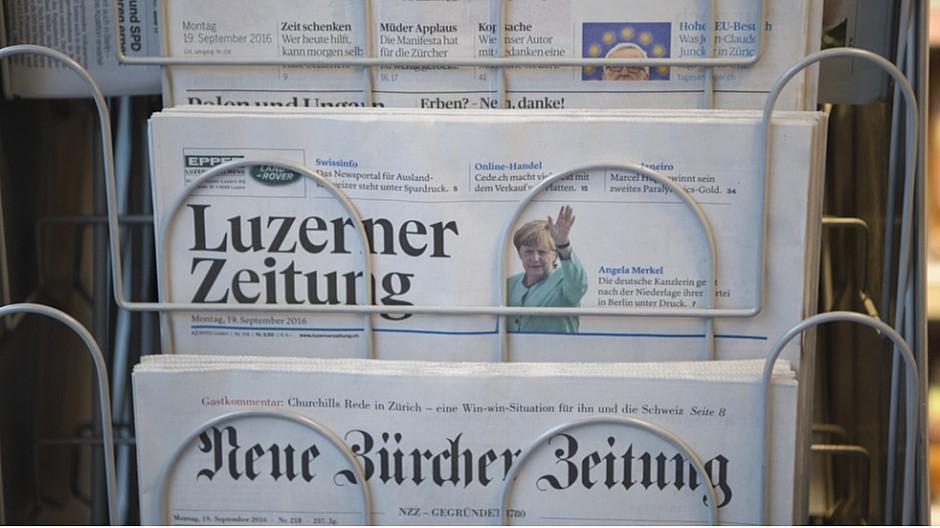 Medienpolitik: Luzerner Politik besorgt über Situation bei den Medien