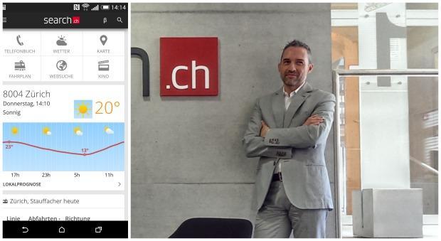 search.ch: Umfassendes Redesign der mobilen Applikationen