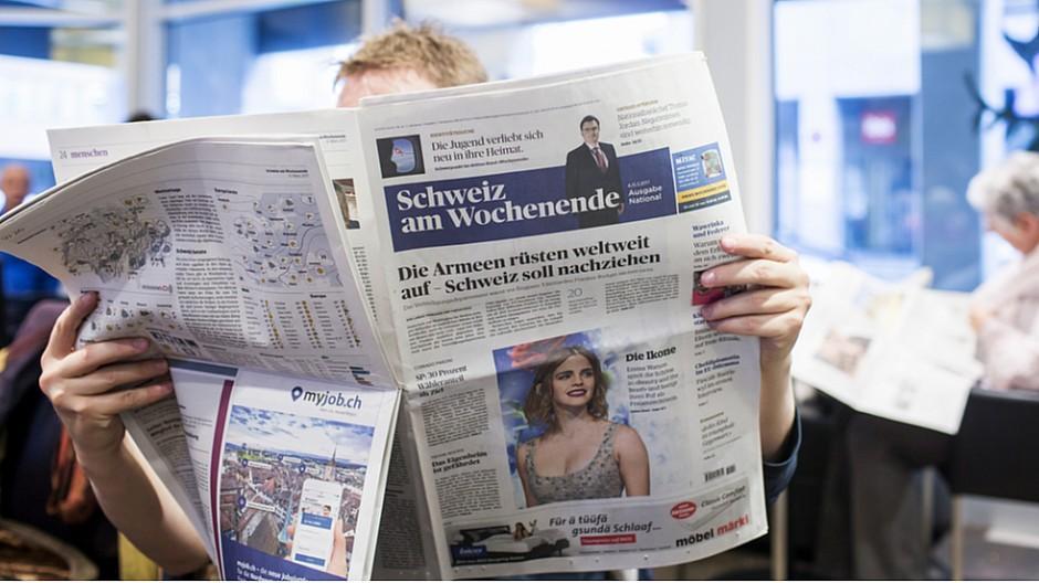 AZ Medien: Medienseite rutscht raus