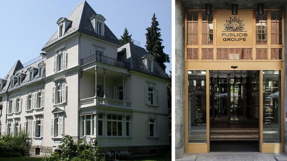 Publicis Groupe Zürich: MetaDesign verlässt Villa im Seefeld