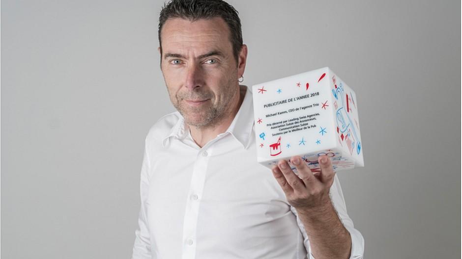 Westschweizer Werber des Jahres: Michael Kamm gewinnt den Titel