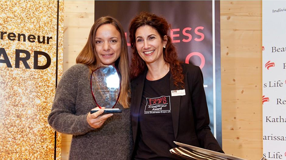 Business-Expo: Michèle Buschor-Frei gewinnt Award