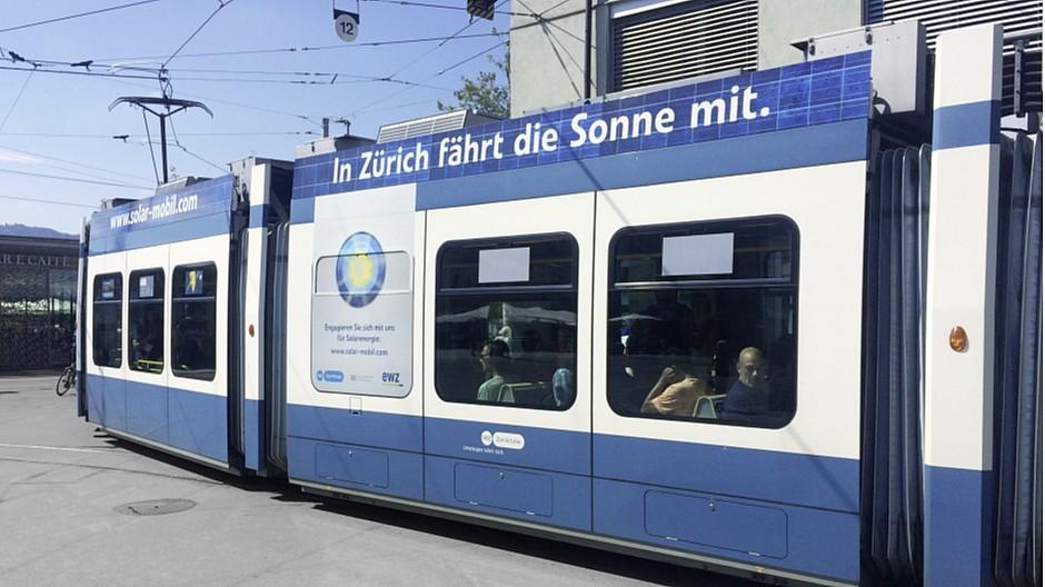 Four: In Zürich ein Jahr mit Solarstrom unterwegs