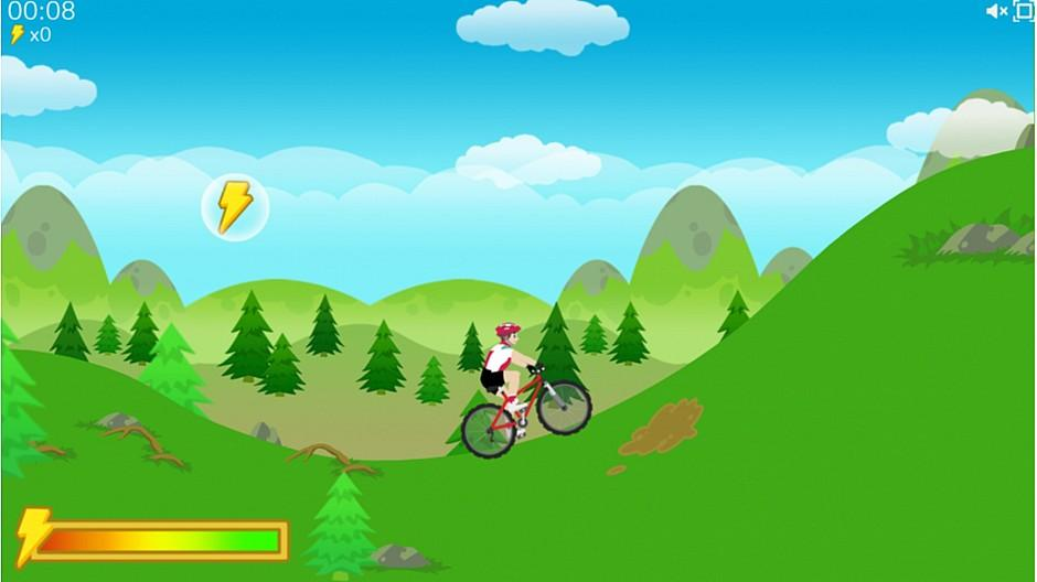 Responsive: Mit «Swiss Cycling Hero» online um die Wette biken