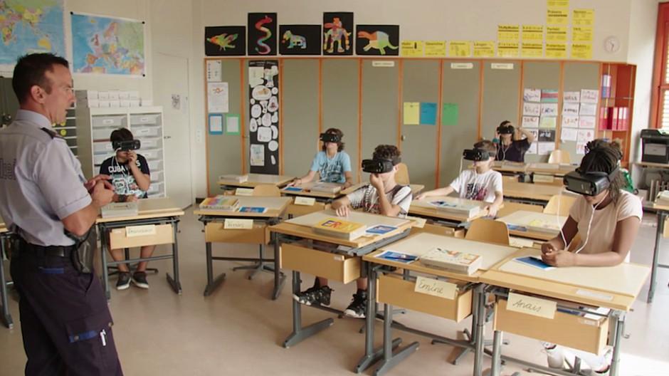Bandara: Kinder lernen mit VR-Brille Velofahren