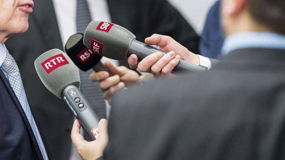 SRG: Mitte-Links-Parteien fordern mehr Geld für die SRG