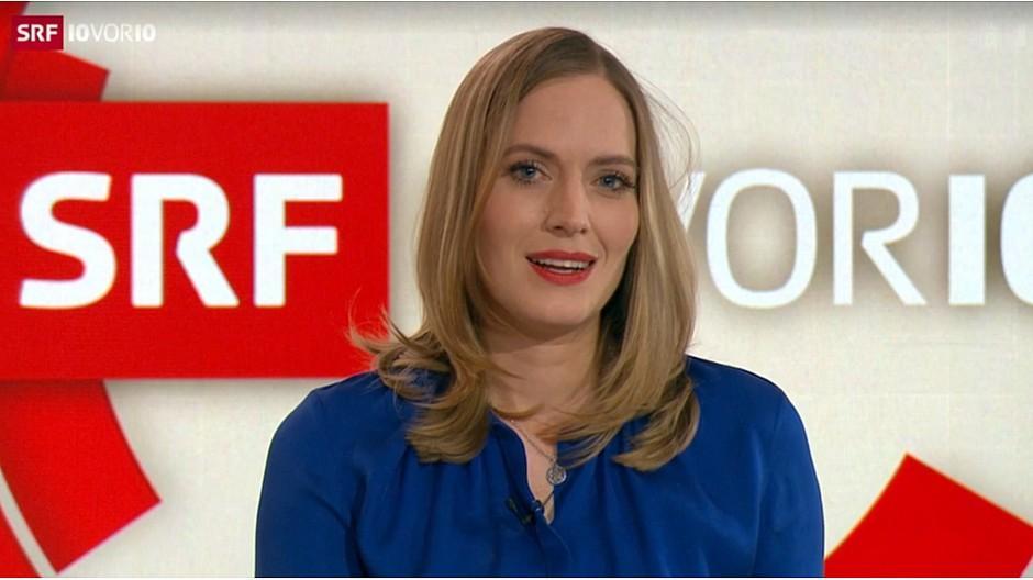 Premiere bei «10vor10»: Moderatorin Franziska Egli startet bescheiden