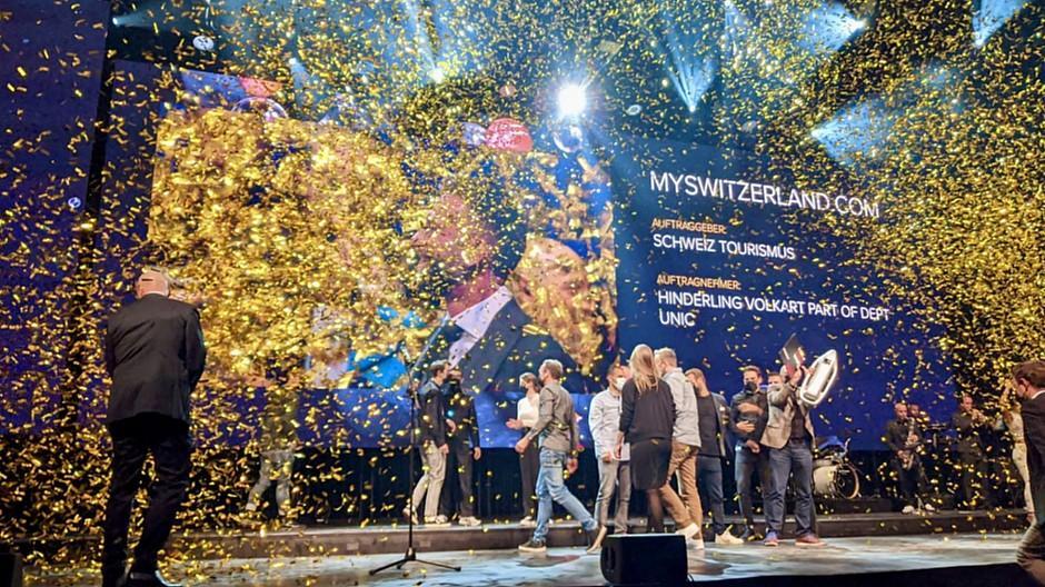 Best of Swiss Web 2020: MySwitzerland.com ist das beste Webprojekt