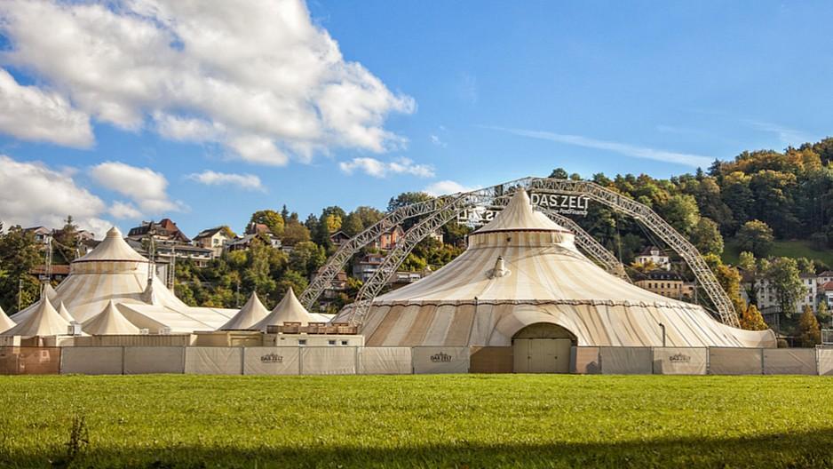Das Zelt: Nach Pause von 580 Tagen wieder auf Tournee