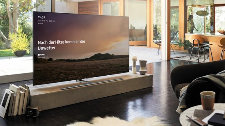 Axel Springer: Nachrichtendienst «Upday» auch auf Smart-TVs