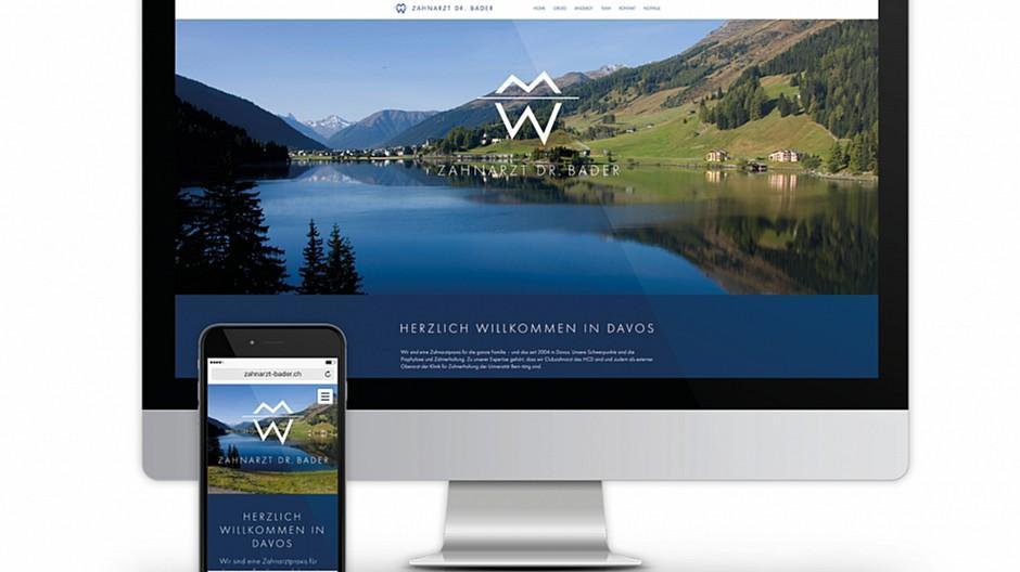 Four: Neue Homepage für Davoser Zahnarztpraxis umgesetzt