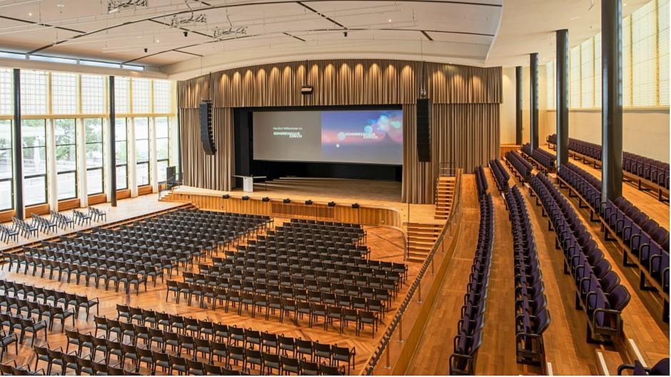 Kongresshaus und Tonhalle: Der Umbau ist abgeschlossen