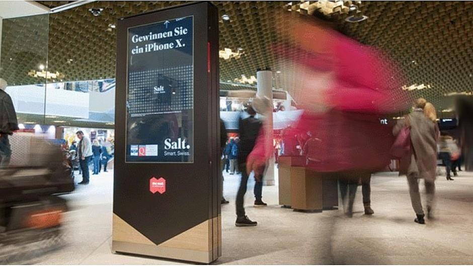 APG|SGA: Neue Werbeflächen in Einkaufszentrum