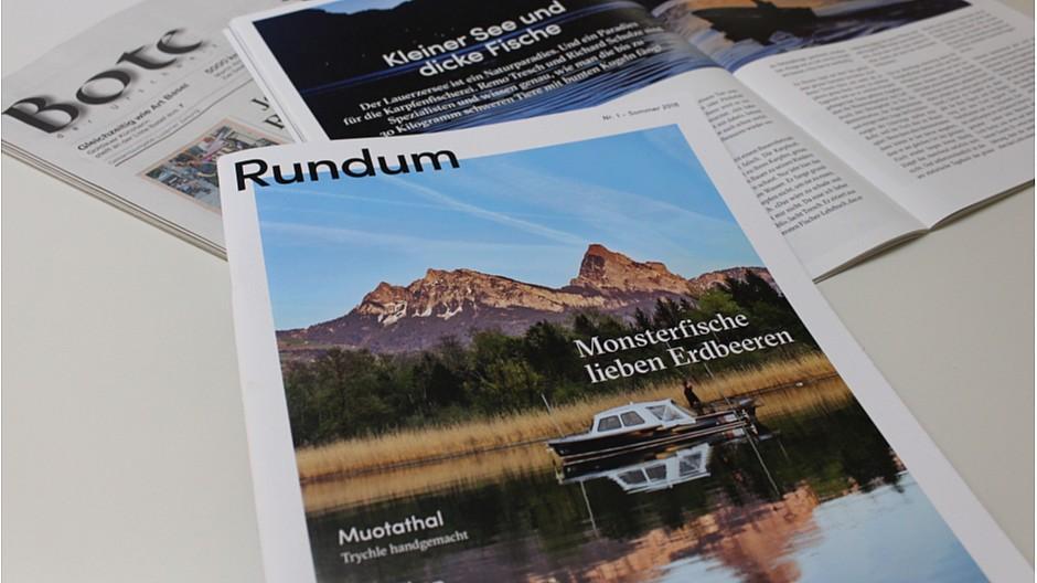 Rundum Schwyz: Neues Printmagazin für den Kanton Schwyz