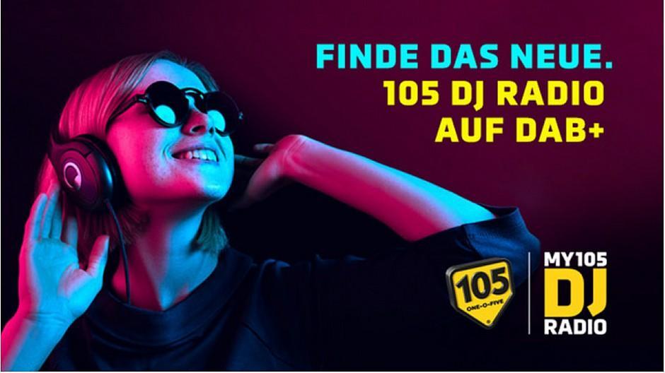 105 DJ Radio: Neues Programm auch via DAB+ verfügbar