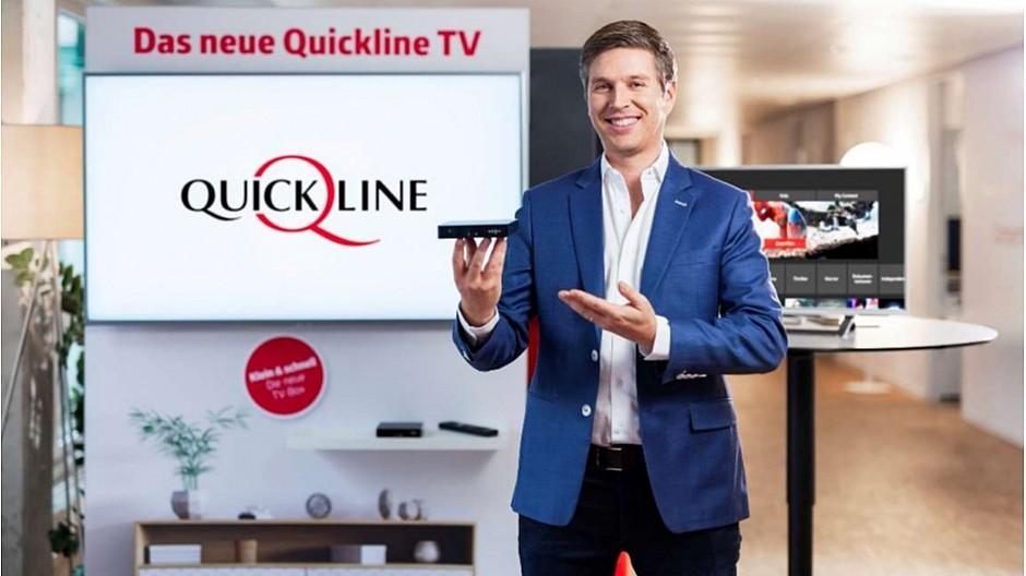 Quickline: Neues TV-Angebot ermöglicht App-übergreifende Suche