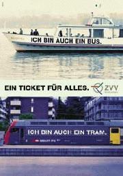 Richtig verkehrt: Ein Zug ist ein Tram ist ein Schiff ist ein Bus