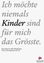 Swiss Life: Grosses Echo auf Wendesatzkampagne