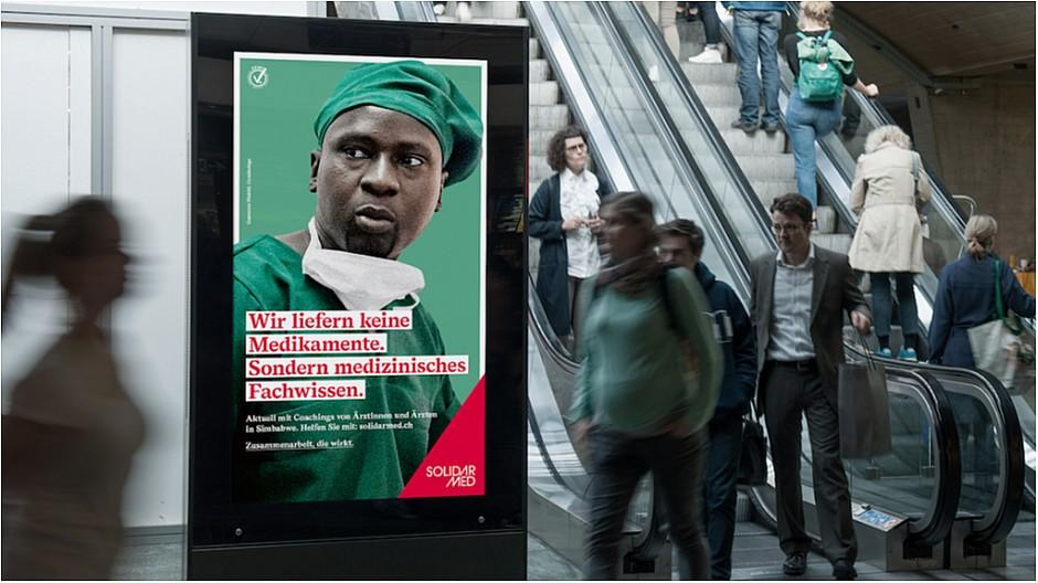 Freundliche Grüsse: NGO-Werbung in ungewohnter Manier